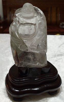 綠幽靈精雕彌勒佛財神3