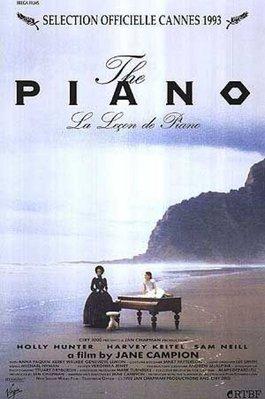 鋼琴師和她的情人-The Piano (1993) 授權再版電影海報