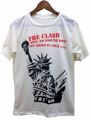 The clash give me enough rope 短T恤 /ROCK/PUNK/ANVIL/HANES