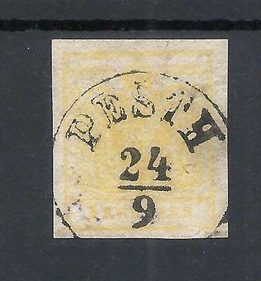 (極品珍藏)奧地利 1850年 (首套郵票)第一枚 Austria Österreich 1850 1Kr