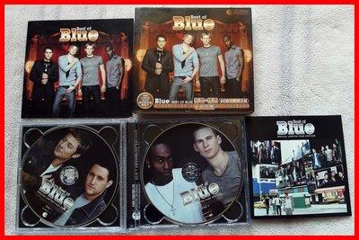 ◎2000-二手-雙CD-Best Of BLUE-新歌+精選--雙CD初回限定盤-排行曲-等19首好歌◎男孩團體