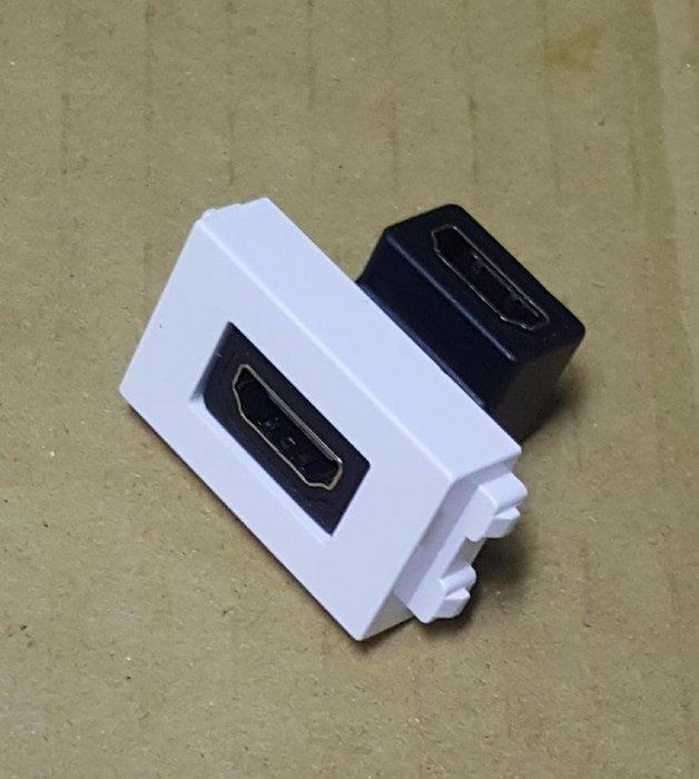 瘋~ HDMI 90度 128型 HDMI 直角90度 轉彎 模塊 地插專用模塊 母對母 面板尺寸 36x23mm