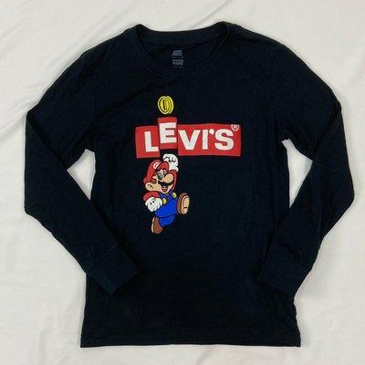 7992 CB2 青年版 翻玩 瑪莉歐X Levis T恤 ❌60kg以上不適合 純棉 圓領 長袖