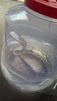 PVC塑膠罐 20公升(20000c.c) /透明筒/收納罐/收納桶/零食罐/塑膠桶_粗俗俗五金大賣場