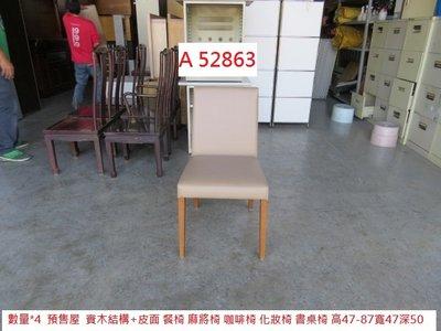 A52863 預售屋 皮面餐椅 麻將椅 書桌椅 ~ 2021台中二手家具 洽談椅 櫃台椅 咖啡椅 化妝椅 聯合二手倉庫