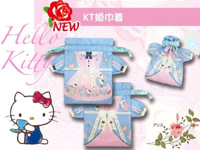 *Miki日本小舖*日本㊣版三麗鷗Hello Kitty凱蒂貓愛麗絲款造型手機套/手機袋/化妝袋/小物袋 日本限定