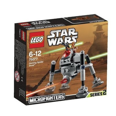 全新 LEGO 75077 Homing Spider Droid 巡導蜘蛛機器人 Star Wars 星際大戰