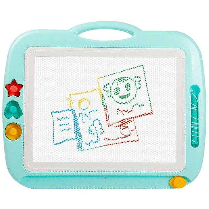 超大號兒童畫畫板磁性彩色寫字板小黑板家用涂鴉板寶寶1-3歲2玩具