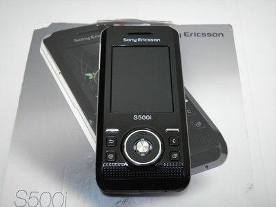 Sony Ericsson S500i 時尚薄型滑蓋機