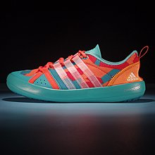D-BOX  Adidas CLIMACOOL BOAT LACE GRAPHIC BOOST 橘綠色 衝浪鞋 涉水鞋