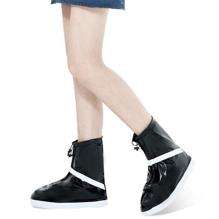 現貨/下雨天防雨鞋套 加厚底雨鞋 耐磨防水鞋套 男女防滑雨靴套156SP5RL/ 最低促銷價