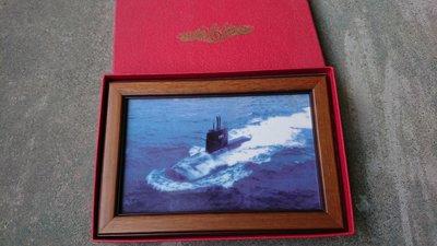 早期海軍軍艦潛艦陶瓷畫紀念品