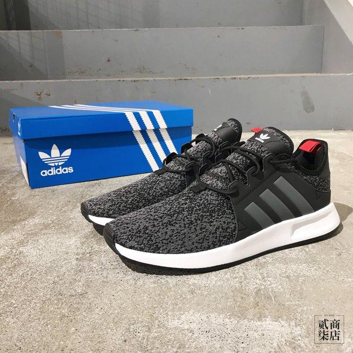 (貳柒商店) adidas Originals X_PLR 男款 黑色 迷彩 編織 虎紋 復古 慢跑鞋 F33900