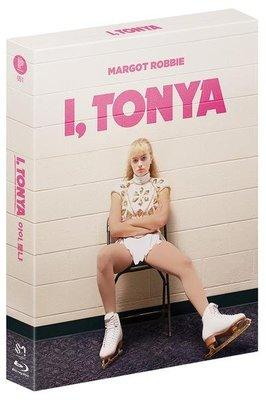 毛毛小舖--藍光BD 老娘叫譚雅 全紙盒限量鐵盒版A款 I, Tonya 瑪格羅比