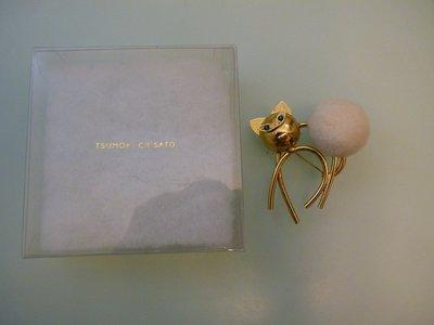 Tsumori Chisato 心口針  襟針 胸針 共6款,每款$250