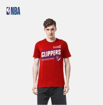 2021新款!NBA季後賽基礎系列 快船隊 運動短袖T恤 男款-LK99645