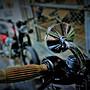 《美式工廠》3吋 高品質 鋁合金後照鏡 哈雷/凱旋專用 Sportster 883 dyna TRIUMPH T100