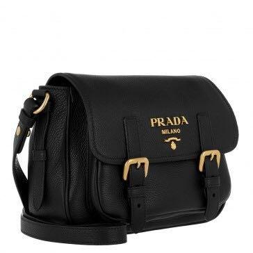 Prada Deer Print Leather crossbody bag手袋 側孭袋 斜孭袋