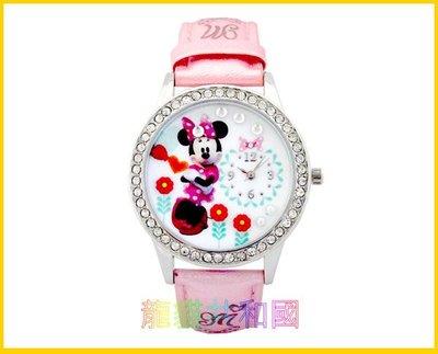 ※龍貓共和國※日本迪士尼Disney《米妮 唐老鴨黛西 灰姑娘仙度瑞拉 鑲鑽腕錶手錶》 生日情人節禮物【日本正版】A