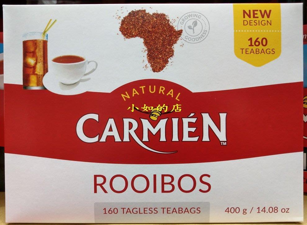 【小如的店】COSTCO好市多代購~ROOIBOS CARMIEN 南非博士茶(每盒160包)超取1-6盒 60元