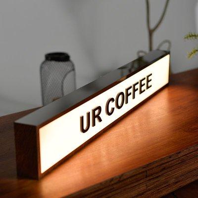 LED戶外燈箱廣告招牌創意鏤空燈箱展示牌工作室企業招牌定制定做