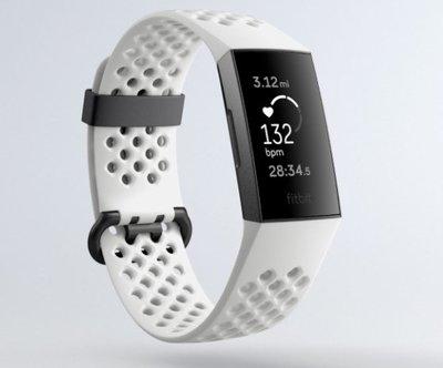 【丹尼小舖】美國Fitbit Charge 3 全新進階版健康運動手環 特別版(雙錶帶)