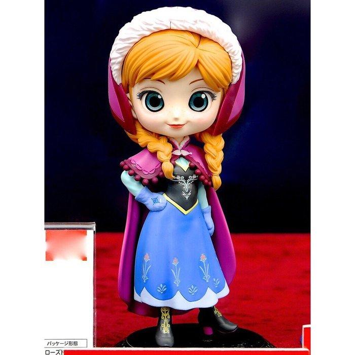 景品 Q POSKET 迪士尼 公主系列 代理 正常色 冰雪奇緣 安娜