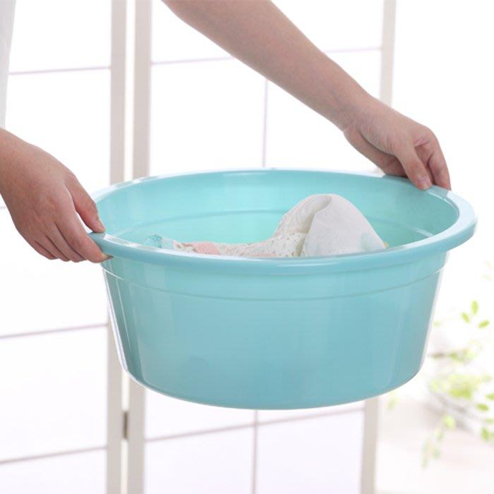 大號加厚加深容量家用成人兒童塑料圓形臉盆洗衣洗腳