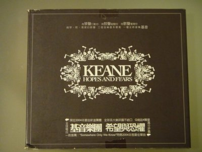 Keane 基音樂團 -- Hopes And Fears 希望與恐懼