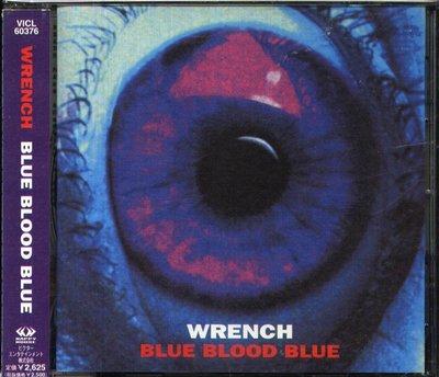 K - WRENCH - Blue Blood Blue - 日版 OBI