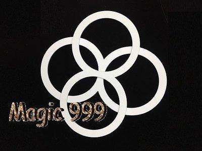 [MAGIC 999]魔術道具 特技雜耍 必備超級雜技環 超輕總重500G 特賣只要1250NT 一組四個 8