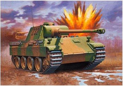 利華Revell拼裝戰車模型03107...