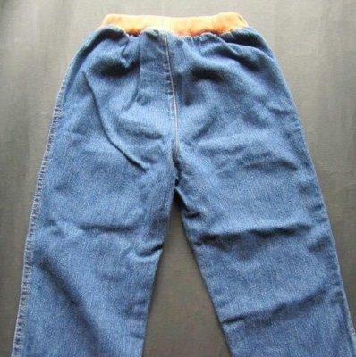 """紫庭雜貨"""" Roberta 諾貝達 藍色牛仔褲童褲 尺寸:95cm 出清"""
