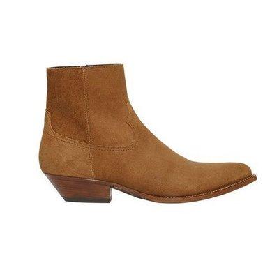 **蛻變英倫**韓國 紐約 歐美頂級款上身媲美侃爺英倫切爾西靴真皮男士皮靴馬丁靴