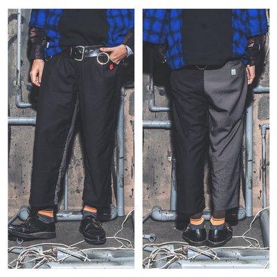 美國東村【Slightly Numb】ZHITU SLACKS 素面 直條 西裝褲
