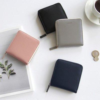 ♀高麗妹♀韓國 GMZ CAILY zip wallet S  慢生活短皮夾/零錢包/卡片萬用收納包(4色選)預購
