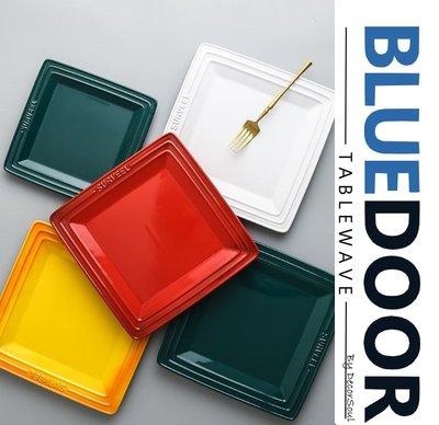 BlueD_多色 10吋大款 浮雕系列 牛排盤 圓盤 飯碗 厚底平盤 西餐盤 深盤 甜點盤 平盤  正方形 方盤 鑄鐵鍋