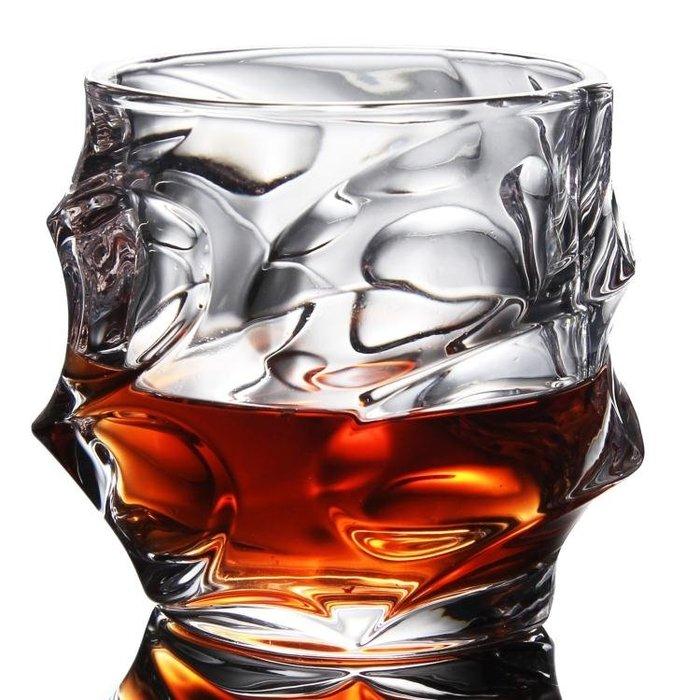 無鉛水晶玻璃大號威士忌酒杯四方杯水杯烈酒啤酒杯洋酒杯酒具yi
