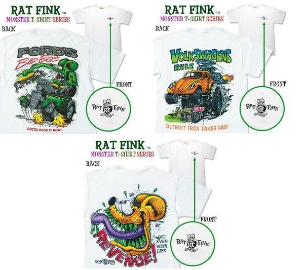 (I LOVE樂多)美原版2013 RAT FINK老鼠芬克個性短衣 美式經典爆力風格 酷.帥及於一身