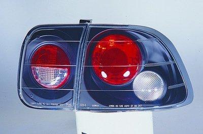 新店【阿勇的店】喜美(CIVIC) 96-98 改款前 K8 4D 黑框 4門 仿IS尾燈 honda k8 尾燈