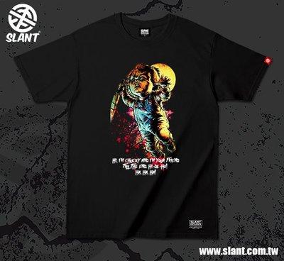 SLANT 2019恰吉 Child's Play 鬼娃恰吉 Chucky 靈異入侵 多色可選 限量T恤 台製純棉T恤