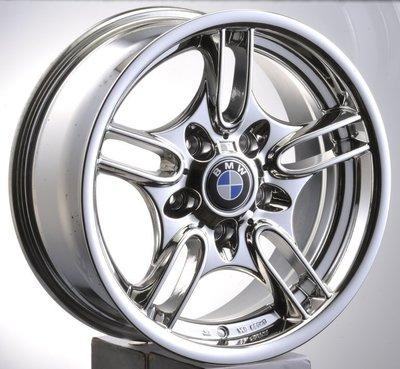 【協和輪胎】5孔120類BMW 16吋電鍍鋁圈 適用E46 E36 E46 E90 E87 E32 E38 E39等車種 台中市