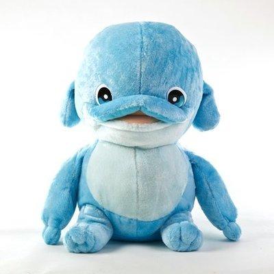 8吋姆姆抱抱/海豚造型玩偶【授權商品】