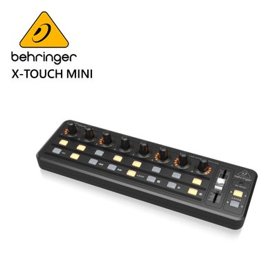 BEHRINGER X-TOUCH MINI 專業混音器 (內置USB / MIDI接口)