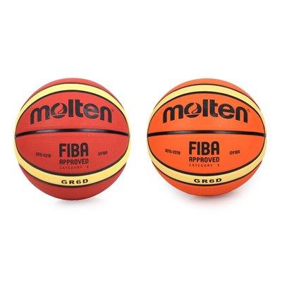 Molten #6橡膠深溝12片貼籃球(6號球【99301875】≡排汗專家≡