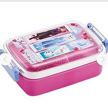 (現貨) 日本製 聚丙烯 450ml 約17x10.5x6cm 兩側開合 密實 長方型 餐盒 Disney Forzen2 冰雪奇緣2 日本直送 全新