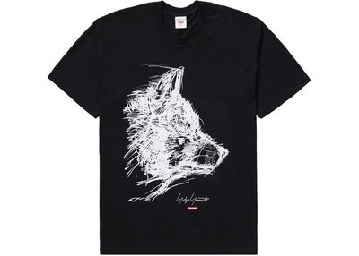 Supreme 20FW Scribble Wolf 短袖 Tee