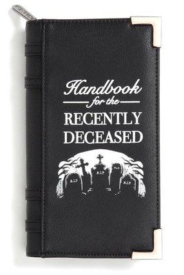 【丹】KS_Dee Ceased Book Wallet 死亡 筆記本 已故 墳墓 長夾 皮夾