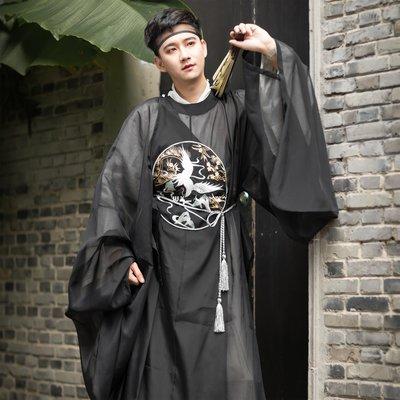 `惗.Study溡光 花仙記創意漢服(大明風華)男女款明制升級刺繡款圓領袍