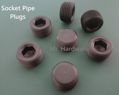 "[Mr. Hardware] 3/8"" PT 內六角塞頭 Socket Pipe Plugs 100PCS 合金鋼"